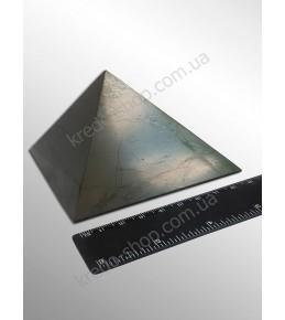 Пирамида из шунгита полированная 90x90мм
